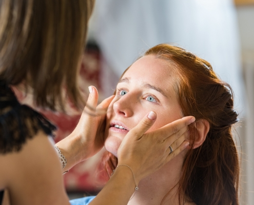 Maquillage mariée longue tenue Grenoble